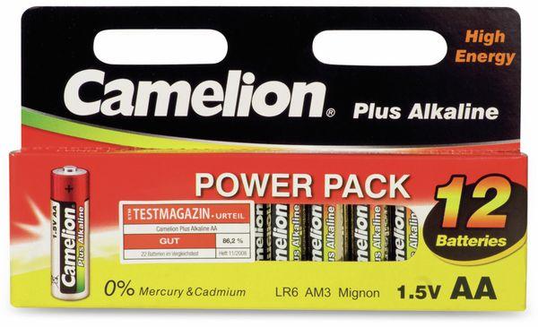Mignon-Batterie, Plus-Alkaline, Camelion LR6, 12 Stück