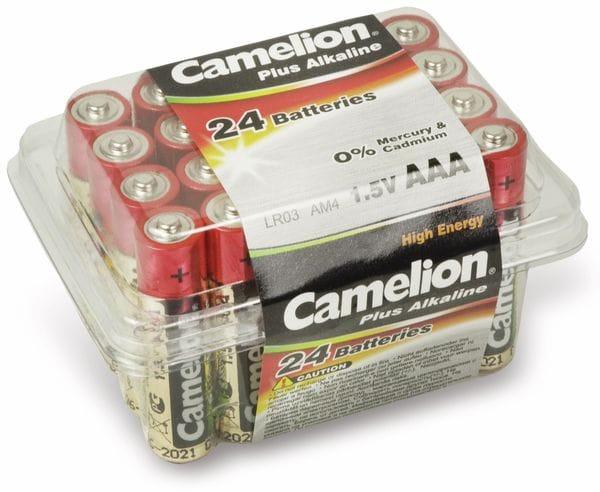 Micro-Batterie, Plus-Alkaline, Camelion LR03, 24 Stück