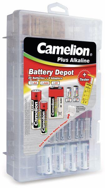 Batterieset Camelion, Familienbox 29tlg.