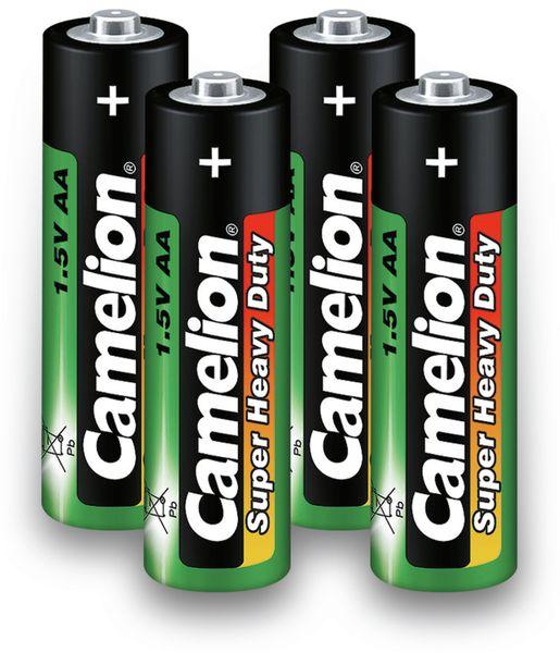 Mignon-Batterie, Camelion Super Heavy Duty , 4 Stück