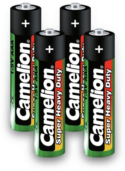 Micro-Batterie, Camelion Super Heavy Duty , 4 Stück