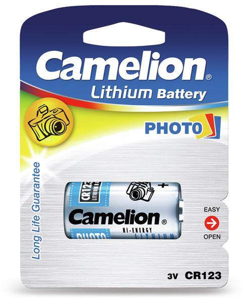 Lithium-Batterie Camelion CR 123A CR123A / 3 Volt / BP1