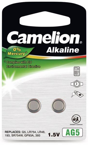 Knopfzelle Camelion AG5, 2 St.