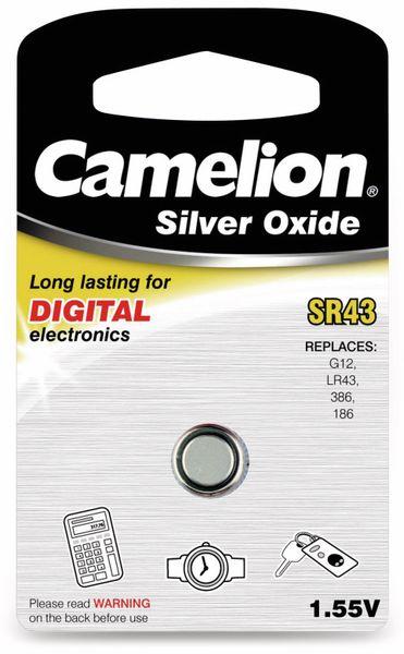Knopfzelle Camelion SR43 1 St.