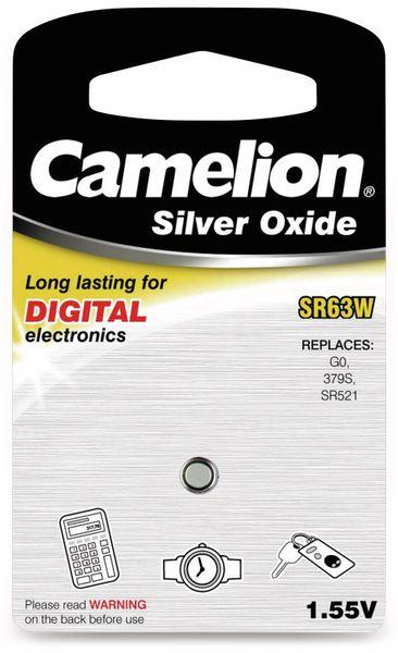 Knopfzelle Camelion SR63W 1 St.