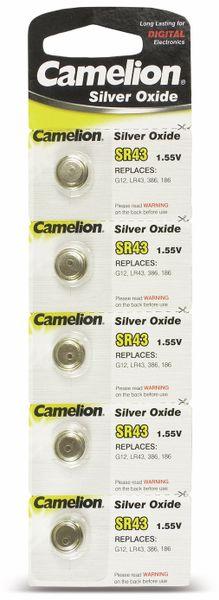 Knopfzelle Camelion SR43 5 St.