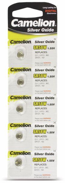 Knopfzelle Camelion SR58W 5 St.