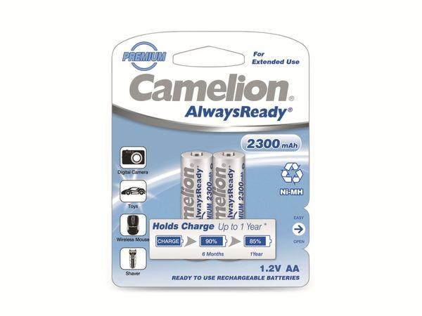 Mignon-Akku, NiMH, 2300mAh Camelion AlwaysReady 2 St. - Produktbild 2