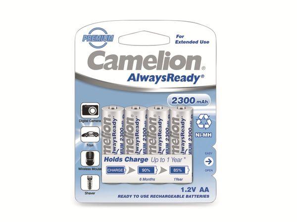 Mignon-Akku, NiMH, 2300mAh Camelion AlwaysReady 4 St. - Produktbild 2
