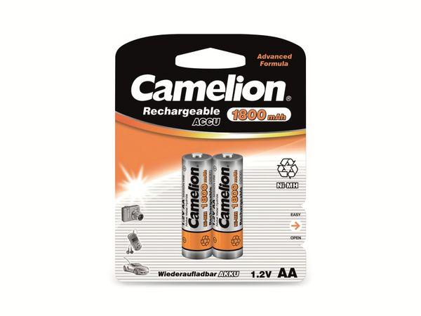 Mignon-Akku, NiMH, 1800mAh Camelion 2 Stück
