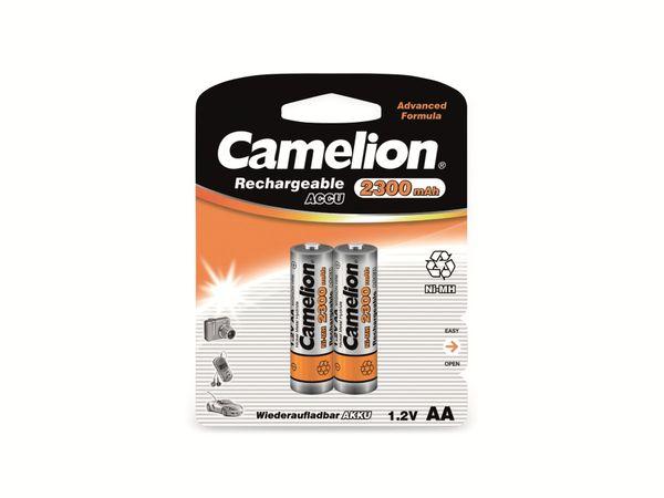 Mignon-Akku, NiMH, 2300mAh Camelion 2 Stück
