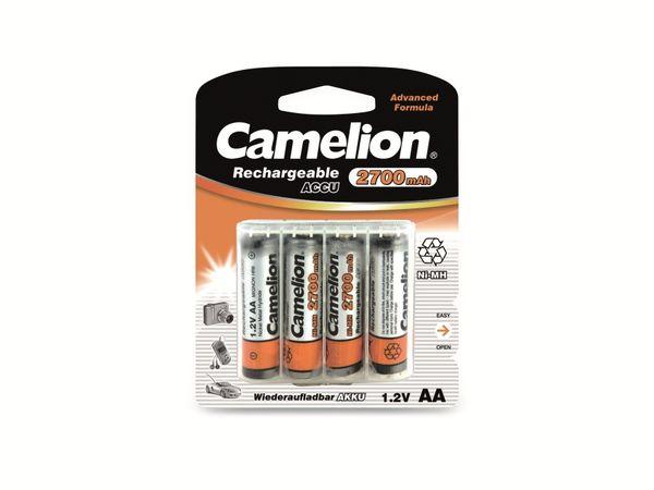 Mignon-Akku, NiMH, 2700mAh Camelion 4 Stück,inkl. Aufbewahrungsbox für 4 St