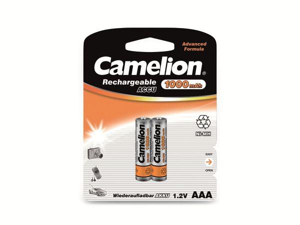 Micro-Akku, NiMH, 1000mAh Camelion 2 Stück