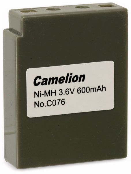 NiMH-Akkupack 3,6V/600mAh Camelion 1 Stück