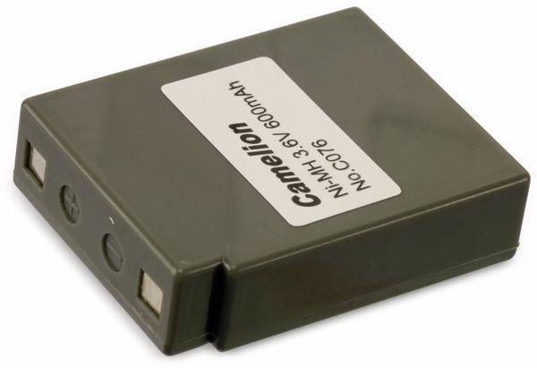 NiMH-Akkupack 3,6V/600mAh Camelion 1 Stück - Produktbild 2