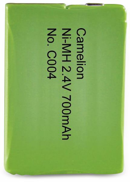 NiMH-Akkupack 2,4V/700mAh Camelion 1 Stück