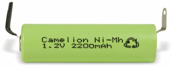 NiMH-Mignon-Akku CAMELION, 2200 mAh, mit Lötfahnen