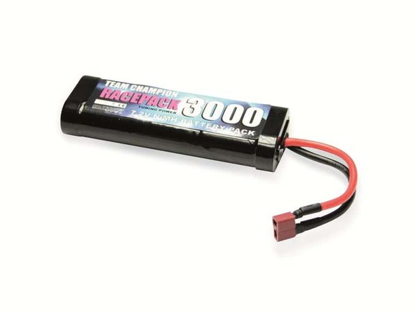 NiMH-Racing-Pack, 7,2V-/3000mAh TEAM CHAMPION RACEPACK