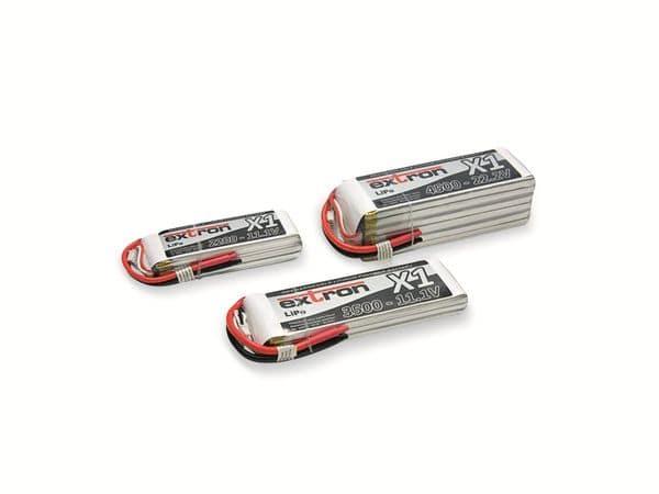 LiPo-Akku EXTRON X1, 14,8 V, 2200 mAh