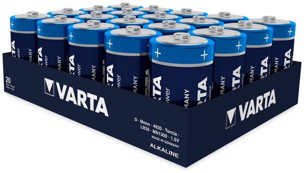 Mono-Batterie, VARTA, LONGLIFE, Power, 1St.