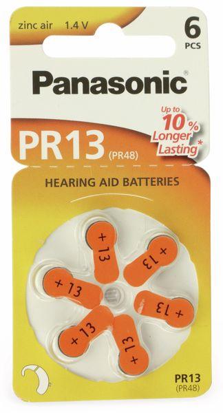 Hörgeräte-Batterie, Größe 13 Panasonic