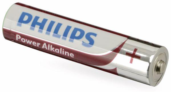 Micro-Batterie PHILIPS Power Alkaline, 4 Stück