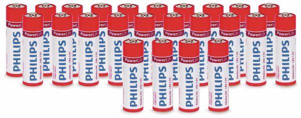 Mignon-Batterieset PHILIPS PowerLife Alkaline, 24 Stück