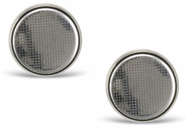 Lithium Knopfzellen CR2025, 2 Stück