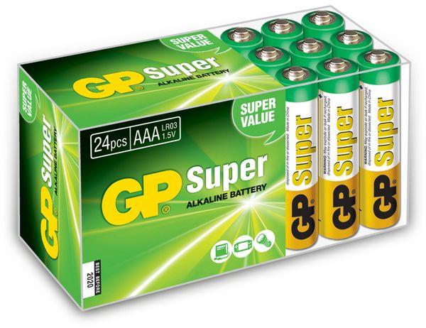 Micro-Batterieset GP, 24 Stück