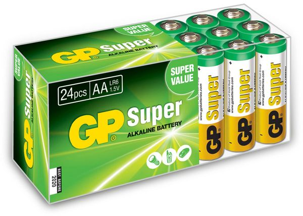 Mignon-Batterieset GP, 24 Stück