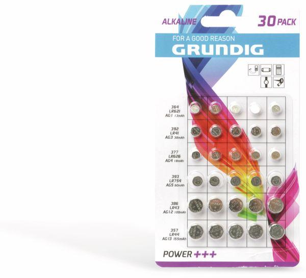 Knopfzellen-Set GRUNDIG 30 Stück - Produktbild 1