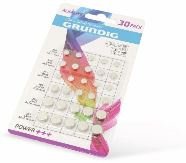 Knopfzellen-Set GRUNDIG 30 Stück - Produktbild 2