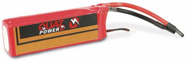 Modellbau-Akkupack QUATPOWER SH2250-35-2S, LiPo, 7,4 V-/2250 mAh