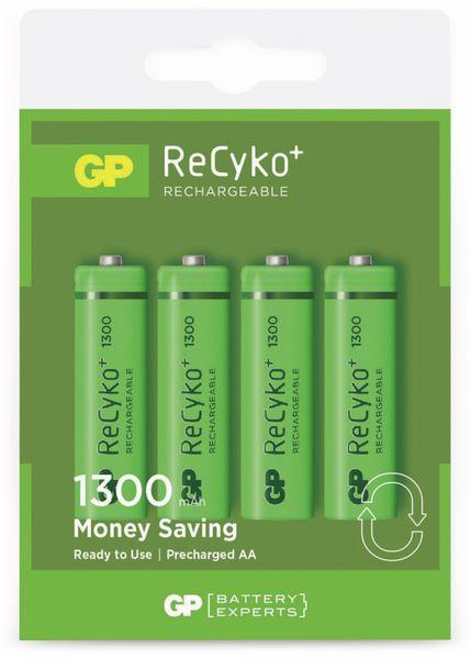 NiMH-Mignon-Akkus GP ReCyko+ GP130AAHC, 1300 mAh, 4 Stück - Produktbild 2
