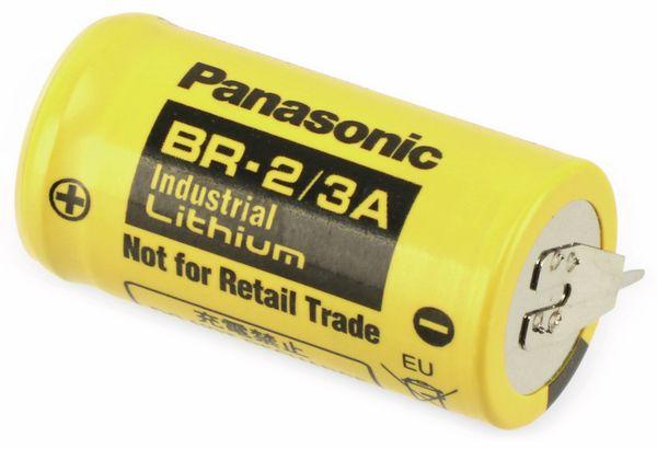 Lithium-Batterie PANASONIC BR-2/3A, 3 V-, 1200 mAh - Produktbild 1