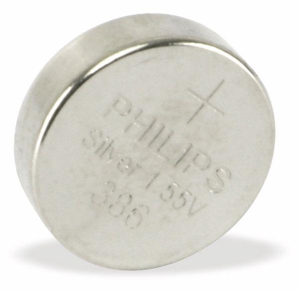 Silberoxid-Knopfzelle PHILIPS 386/00B - Produktbild 1
