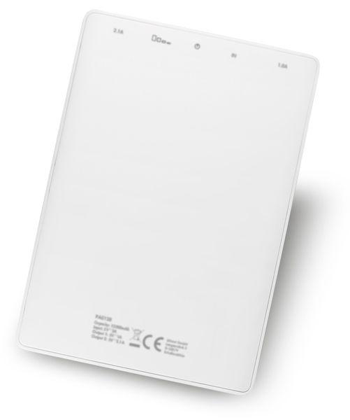 USB Powerbank LogiLink, 12000 mA, 2x USB-Port, weiß - Produktbild 3