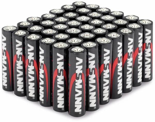Micro-Batterieset ANSMANN, Alkaline, 42 Stück