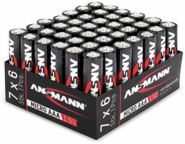Micro-Batterieset ANSMANN, Alkaline, 42 Stück - Produktbild 3