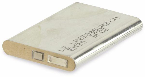 Lithium-Ion-Akku LP653450RS-V1 3,7 V/1280 mAh, gebraucht - Produktbild 2