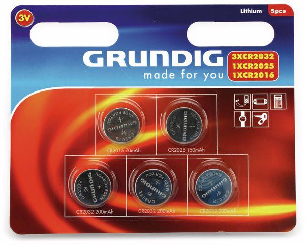 Lithium-Knopfzellen-Set GRUNDIG, 5-teilig