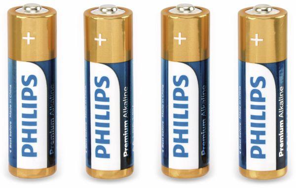 Mignon-Batterieset PHILIPS Premium Alkaline, 4 Stück - Produktbild 1