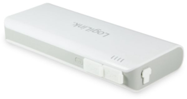 Powerbank LOGILINK PA0124, 10.000 mAh, IP44, 2x USB - Produktbild 3