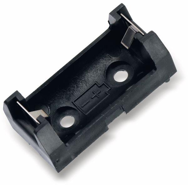 Batteriehalter, 1x1/2 Mignon AA, KEYSTONE, Printanschluss - Produktbild 1