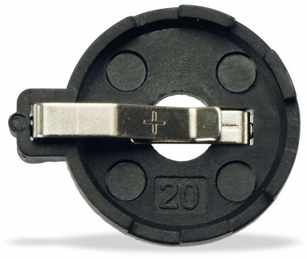 Batteriehalter, 1xCR2016-CR2032, Printanschluss - Produktbild 3
