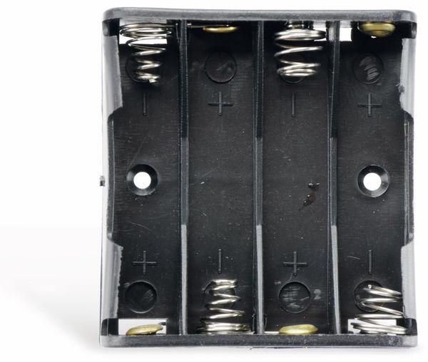 Batteriehalter, 4 x Micro AAA, Printanschluss - Produktbild 2