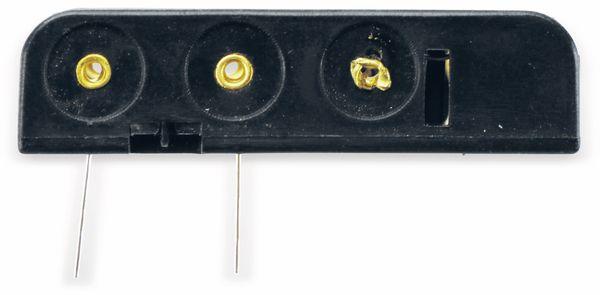 Batteriehalter, 4 x Micro AAA, Printanschluss - Produktbild 4