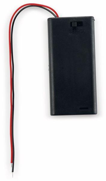 Batteriehalter, 2 x Mignon AA, Schalter - Produktbild 1
