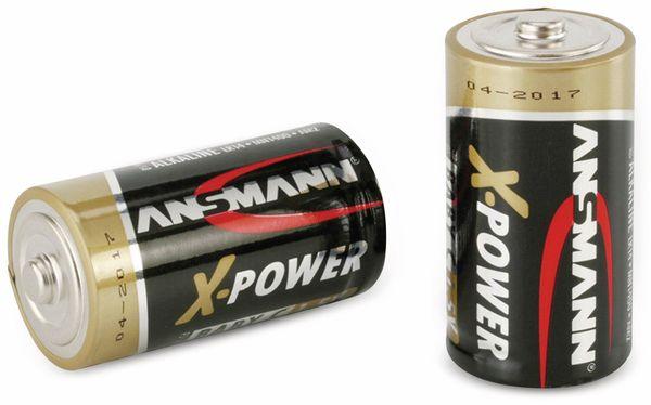 Baby-Batterie, ANSMANN, XPower, 7500mAh, 2 Stück