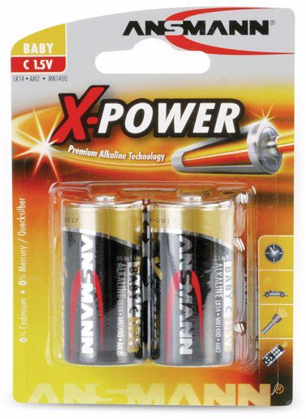 Baby-Batterie, ANSMANN, XPower, 7500mAh, 2 Stück - Produktbild 2